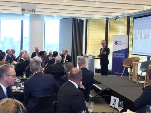 Luncheon with the Hon Christopher Pyne MP, Leader of the House and Minister for Defence